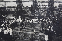 Dnepropetrovsk,  USSR Postcard. 1935   / People  Playing Chess In City Park- JEU - ECHECS - Échecs / Very Rare Edition! - Echecs