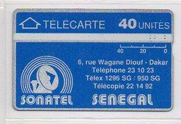 SONATEL - 40 UNITES - Senegal