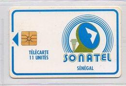 SONATEL - CHIP - 11 UNITES - Senegal