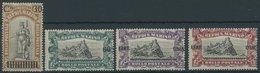 SAN MARINO 105-08 **, 1924, 30 C. Auf 45 C. - 2 L. Auf 3 L. Kriegsverletzte, Postfrischer Prachtsatz, Mi. 150.- - San Marino