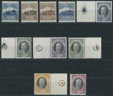 SAN MARINO 121-30 **, 1926, Monte Titano Und Onofri, 2 Postfrische Prachtsätze, Mi. 85.- - San Marino