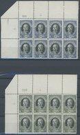 SAN MARINO 125-30 **, 1926, Onofri In Viererblock Vom Oberrand, Postfrischer Prachtsatz, Mi. 320.- - San Marino