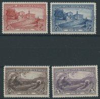 SAN MARINO 141-44 **, 1928, Franziskus Von Assisi, Postfrischer Prachtsatz, Mi. 200.- - San Marino