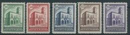 SAN MARINO 175-79 **, 1932, Neues Postgebäude, Prachtsatz, Mi. 1300.- - San Marino
