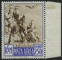 SAN MARINO 449 **, 1950, 250 L. San Marino, Pracht, Mi. 180.- - San Marino