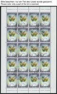 SAN MARINO 1508/09,1523/4KB O, 1992/3, Entdeckung Von Amerika Und Zeitgenössische Kunst In Kleinbogen, Pracht, Mi. 120.- - San Marino