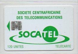 SOCATEL - CHIP - 120 UNITES - Centraal-Afrikaanse Republiek