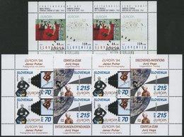 SLOWENIEN 48/9,80/1KB O, 1993/4, Europa In Kleinbogen, Pracht, Mi. 55.- - Slowenien