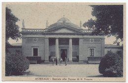 Acireale - Entrata Terme Di S. Venera - Acireale