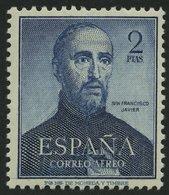 SPANIEN 1010 **, 1962, 2 Pta. 400. Todestag Des Hl. Franz Xaver, Pracht, Mi. 80.- - Spanien