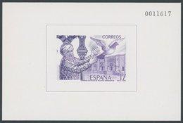 SPANIEN Bl. 29 **, 1986, Block EXFILNA In Violett, Postfrisch, Pracht, Mi. 80.- - Spanien
