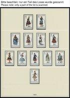 SPANIEN **, 1970-84, Komplette Postfrische Prachtsammlung Spanien In 2 Neuwertigen Lindner Falzlosalben (ein Paar Unwese - Spanien