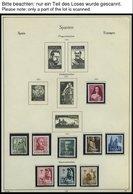 SPANIEN **, Komplette Postfrische Sammlung Spanien Von 1954-72 Im KA-BE Album, Prachterhaltung - Spanien