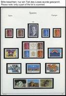 SPANIEN **, Postfrische Sammlung Spanien Von 1991-2002 Im KA-BE Album, Bis 1999 Komplett, Mit Vielen Kleinbogen, Prachte - Spanien