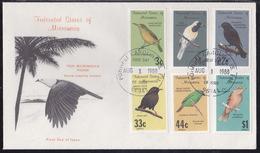 Micronesia, Birds, 1988,  FDC - Oiseaux