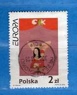 POLONIA POLSKA - 2002 ° EUROPA. Yvert. 3737.  USATO  Vedi Descrizione. - Usati