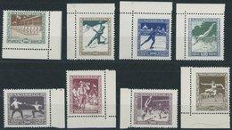 UNGARN 403-10 **, 1925, Sport, Postfrischer Prachtsatz, Mi. 75.- - Hongrie