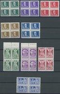 UNGARN 458-66 VB **, 1930, Regierungsjubiläum Und 900-Jahr-Feier In Viererblocks, Postfrisch, Pracht, Mi. 180.- - Hongrie