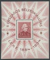 POLEN Bl. 1 **, 1934, Block Liszt, Pracht, Mi. 170.- - Hongrie