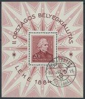 UNGARN Bl. 1 O, 1934, Block Liszt, Pracht, Mi. 140.- - Hongrie