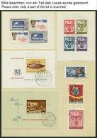 SAMMLUNGEN, LOTS O, **, 1962-73, Fast Nur Gestempelter Sammlungsteil, Pracht, Hoher Katalogwert - Hongrie
