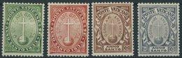 VATIKAN 17-20 **, 1933, Heiliges Jahr Der Erlösung, Postfrischer Prachtsatz, Mi. 140.- - Vatikan