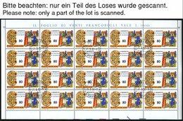 VATIKAN 759-63,867-69KB O, 1980/5, 150. Geburtstag Des Hl. Benedikt Von Nursia Und 1100. Todestag Des Hl. Methodios, Je  - Vatikan