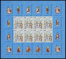 VATIKAN 934-36KB **, 1987, Reliquien Im Kleinbogensatz, Pracht, Mi. 100.- - Vatikan