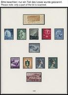 ÄGYPTEN **, 1958-69, Vereinigte Arabische Republik, Postfrische, Fast Komplette Sammlung Im Lindner Falzloslbum Mit Ägyp - Ägypten