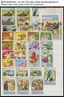 ÄQUATORIAL - GUINEA O,** , überwiegend Gestempelte Sammlung Äquatorial Guinea Von 1968-79 Sauber Im Dicken Einsteckbuch, - Äquatorial-Guinea