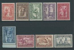BELGISCH-KONGO 110-18 **, 1930, Hilfe Für Die Bevölkerung, Postfrischer Prachtsatz - Belgisch-Kongo
