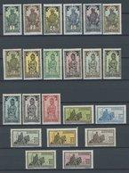 BURKINA FASO 43-65 **, 1928, Leben Der Haussa, Postfrischer Prachtsatz - Obervolta (1958-1984)