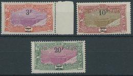 FRANZÖSISCH-SOMALI-KÜSTE 135-37 **, 1927, 3 - 20 Fr. Freimarken, Postfrisch, 3 Prachtwerte - Französich-Somaliküste (1894-1967)