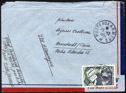 FRANZÖSISCH-INDOCHINA Fr. 999 BRIEF, 1954, 50 Fr. Exportindustrie Mit K1 POSTE AUX ARMEES Auf Feldpostbrief Eines Deutsc - Indochina (1889-1945)