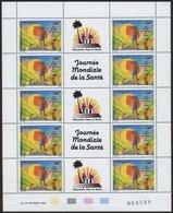 FRANZÖSISCH-POLYNESIEN 609/10KB **, 1992, Weltgesundheitstage U.World Columbian Stamp Expo, Je Im Kleinbogen (10), Prach - Französisch-Polynesien