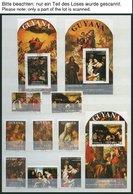 GUYANA O, 1988-92, Partie Verschiedener Ausgaben, Blocks Und Kleinbogen, Pracht, Mi. 470.- - Guyana (1966-...)