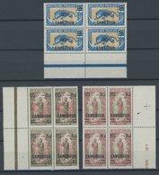 KAMERUN 66-68 VB **, 1925, Freimarken In Viererblocks, Postfrisch, Pracht - Kamerun (1960-...)