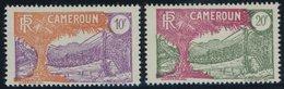KAMERUN 94/5 **, 1926, 10 Und 20 Fr. Landesmotive, Postfrisch, 2 Prachtwerte - Kamerun (1960-...)