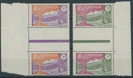 KAMERUN 94/5ZS **, 1926, 10 Und 20 Fr. Landesmotive In Senkrechten Zwischenstegpaaren, Postfrisch, Pracht - Kamerun (1960-...)
