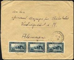 MAROKKO 104 BRIEF, 1934, 50 C. Bauten Mit K1 POSTE AUX ARMÉES/405 Auf Feldpostbrief Eines Deutschen Fremdenlegionärs Aus - Marokko (1956-...)