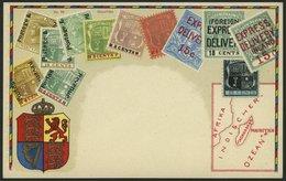MAURITIUS Ca. 1920, Briefmarkenserie, Ungebrauchte Karte, Pracht - Mauritius (1968-...)