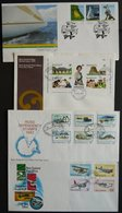 1973-90, 65 Verschiedene FDCs, Dazu 3 Gedenkblöcke Und Einige Besonderheiten, Prachterhaltung -> Automatically Generated - Neuseeland