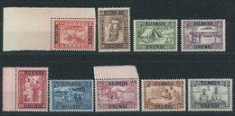 RUANDA-URUNDI 34-42 **, 1930, Caritas, Postfrischer Prachtsatz - Ruanda-Urundi