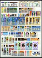 ST. LUCIA **, Fast Komplett Von 1979-82, Mit Allen Blocks, Prachterhaltung, Mi. 203.- - St.Lucia (1979-...)