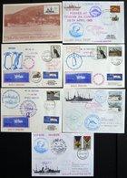 SÜDAFRIKA AB 1910 1978 BRIEF, 1976-92, 7 Verschiedene Antarktis-Belege, Pracht - Südafrika (1961-...)
