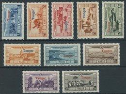 TANGER 19-28 **, 1929, Überschwemmungsopfer, Postfrischer Prachtsatz - Marokko (1891-1956)