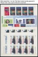 TANSANIA O,** , Dublettenbuch Von 1980-96 Sauber Im Einsteckbuch, Dabei Kleinbogen, Blocks Und Zwischenstegpaare, Fast N - Tansania (1964-...)