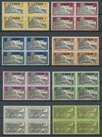 TOGO 65-84 VB **, 1924, Landwirtschaft In Viererblocks, Postfrischer Prachtsatz - Togo (1960-...)
