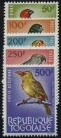 TOGO 402-06 **, 1964, 50 - 500 Fr. Flugpost, Prachtsatz, Mi. 120.- - Togo (1960-...)