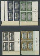 TOGO D 9-19 VB **, Dienstmarken: 1925, Baumwollplantage In Viererblocks, Postfrischer Prachtsatz - Togo (1960-...)